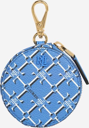 Lauren Ralph Lauren Porte-monnaies en bleu fumé / noir / blanc, Vue avec produit
