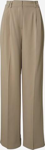 Pantalon à pince 'Ruby' Kendall for ABOUT YOU en beige