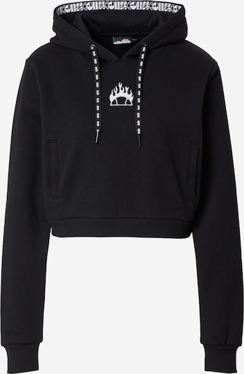 About You x Ellesse Sweatshirt 'Lucianto' i svart, Produktvy