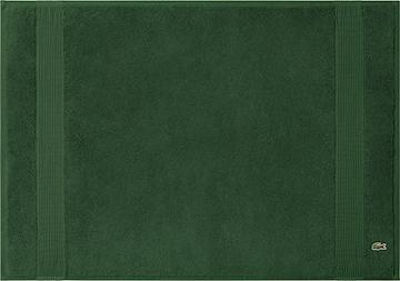LACOSTE Bathmat 'LE CROCO' in Green