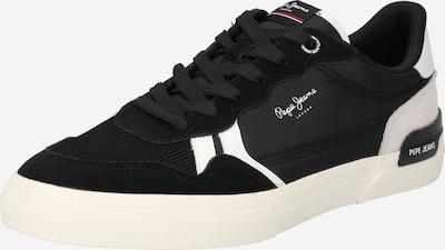 Pepe Jeans Nízke tenisky 'KENTON BRITT' - čierna / biela, Produkt