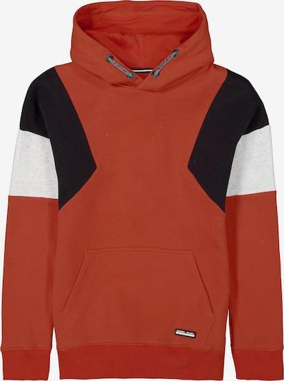 GARCIA Sweatshirt in hummer / schwarz / weiß, Produktansicht