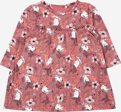 Guppy Jurk 'ODA' in de kleur Koraal / Rosa / Rosé / Zwart / Wit, Productweergave