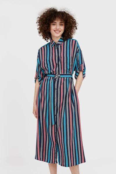 Finn Flare Blusenkleid in mischfarben, Modelansicht