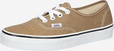 Sneaker low 'Authentic' VANS pe bronz, Vizualizare produs