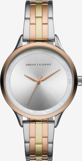 ARMANI EXCHANGE Uhr in gold / rosegold / silber, Produktansicht