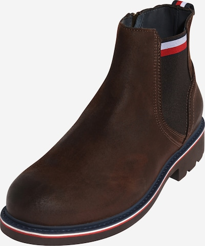 TOMMY HILFIGER Chelsea boots 'CORPORATE' in de kleur Donkerbruin, Productweergave