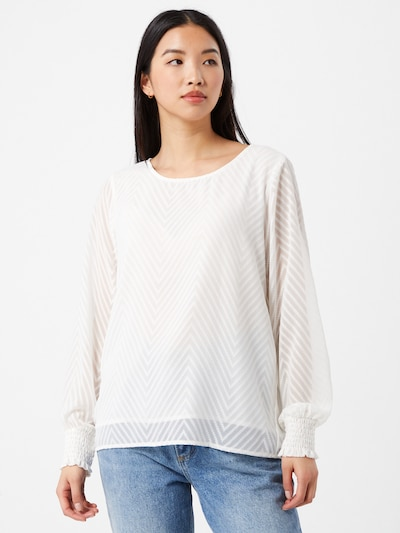 ONLY Bluse 'Anne Lena' in weiß, Modelansicht