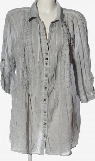 SAMOON Langarmhemd in 5XL in hellgrau, Produktansicht