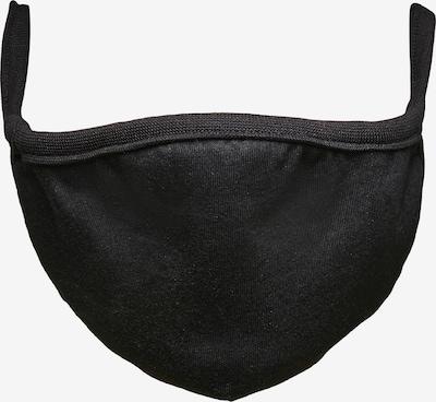Build your Brand Masque en tissu en noir, Vue avec produit