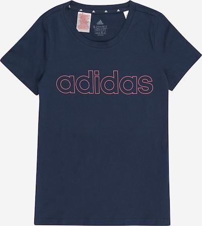 ADIDAS PERFORMANCE T-Shirt fonctionnel en bleu foncé / rose, Vue avec produit