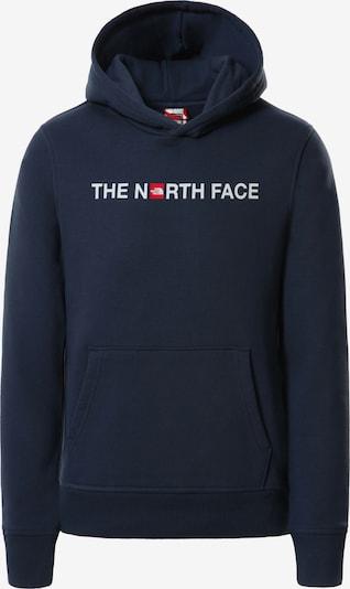 THE NORTH FACE Sweatshirt in de kleur Donkerblauw / Rood / Wit, Productweergave