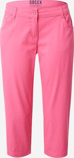 Pantaloni Soccx pe roz pitaya, Vizualizare produs