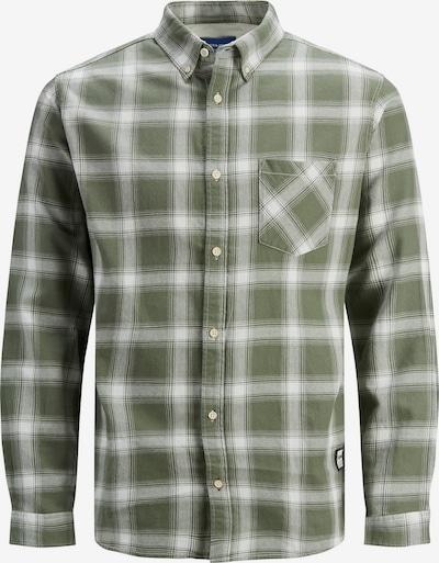 Camicia 'Layton' JACK & JONES di colore color fango / bianco, Visualizzazione prodotti