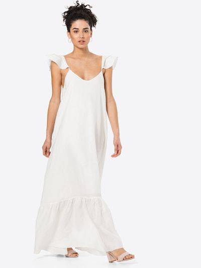Suknelė iš KAN, spalva – balta, Modelio vaizdas
