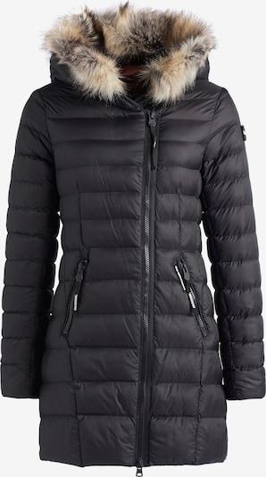 khujo Wintermantel ' MELIKA ' in de kleur Zwart, Productweergave