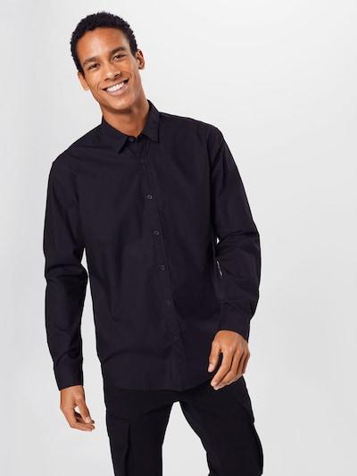 ESPRIT Hemd in schwarz: Frontalansicht