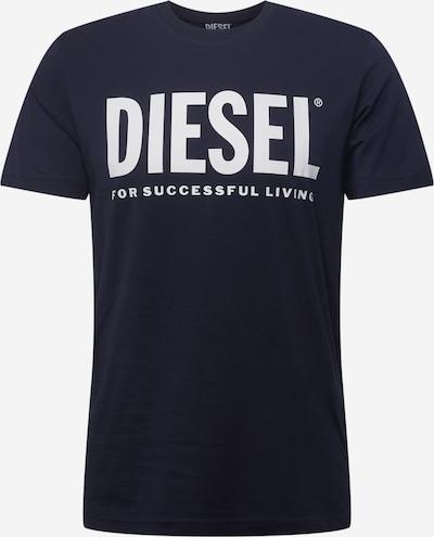 DIESEL Shirt 'DIEGOS' in dunkelblau / weiß, Produktansicht