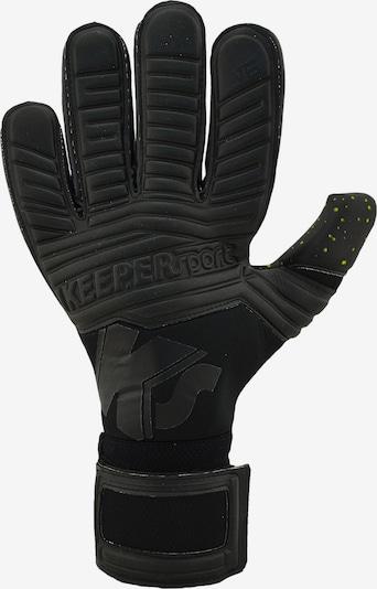 KEEPERsport Torwarthandschuhe in schwarz, Produktansicht