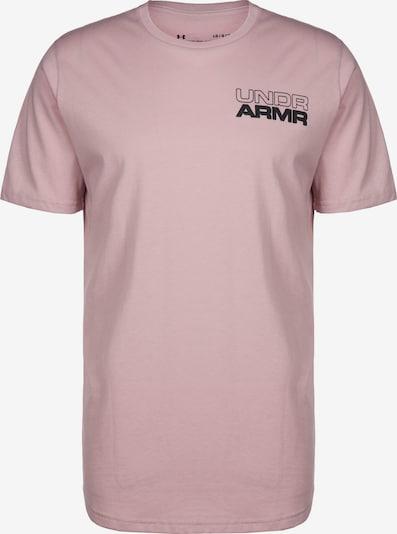 UNDER ARMOUR Trainingsshirt 'Baseline Photoreal Grapic' in altrosa / schwarz / weiß, Produktansicht