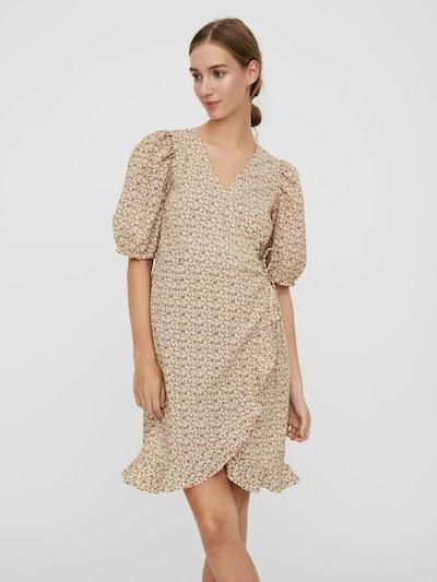 VERO MODA Kleid in cappuccino / mischfarben, Modelansicht