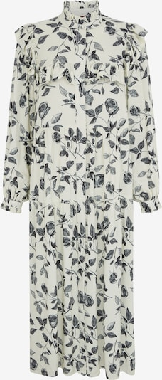 Aligne Kleid 'Emma' in schwarz / weiß, Produktansicht