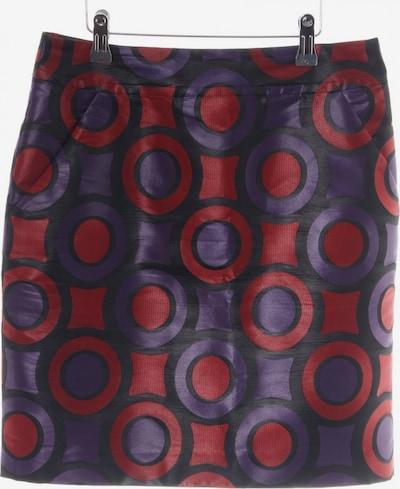 Gianni Versace Minirock in L in lila / rot / schwarz, Produktansicht