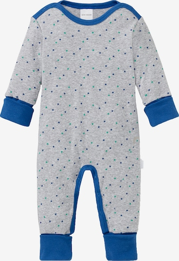 SCHIESSER Schlafanzug in royalblau / grau, Produktansicht