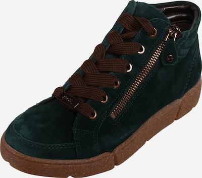 ARA Sneaker in smaragd: Frontalansicht
