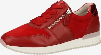 GABOR Sneakers laag in de kleur Rood: Vooraanzicht