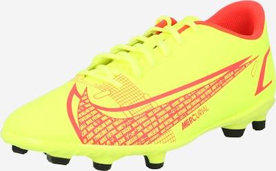 NIKE Παπούτσι ποδοσφαίρου 'Mercurial Vapor 14 Club' σε κίτρινο νέον / κόκκινο, Άποψη προϊόντος