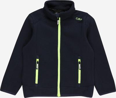 Jachetă  fleece funcțională CMP pe verde limetă / negru, Vizualizare produs