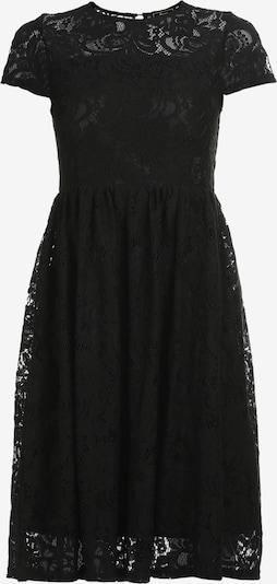 Rochie de cocktail faina pe negru, Vizualizare produs