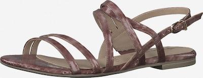 Sandale cu baretă TAMARIS pe maro, Vizualizare produs