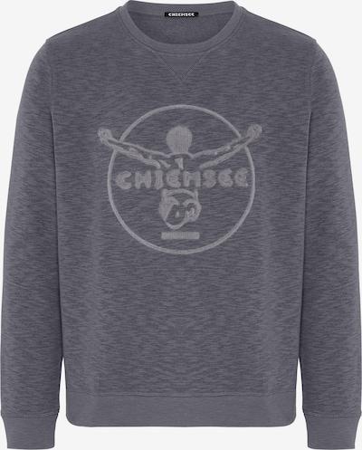 CHIEMSEE Sportsweatshirt 'SHISPARE' in de kleur Antraciet, Productweergave