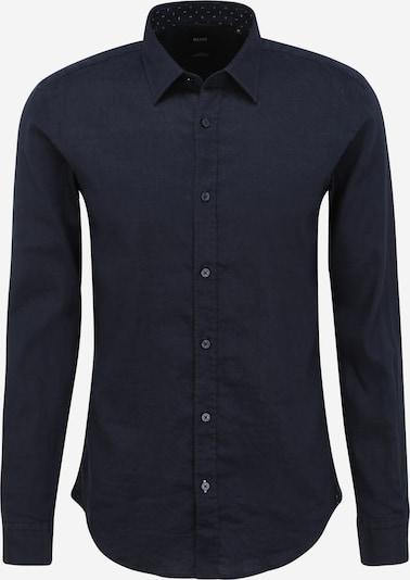 BOSS Overhemd 'Ronni' in de kleur Donkerblauw, Productweergave
