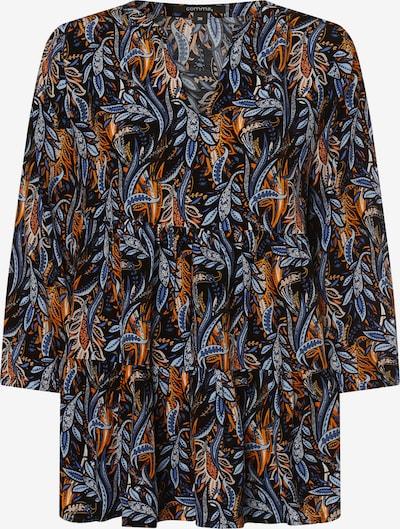 COMMA Bluse in mischfarben / schwarz, Produktansicht