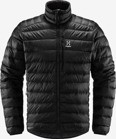 Haglöfs Outdoorjacke 'Roc Down' in schwarz / weiß, Produktansicht