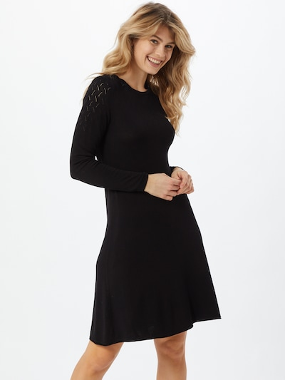 ONLY Knit dress in Black, View model