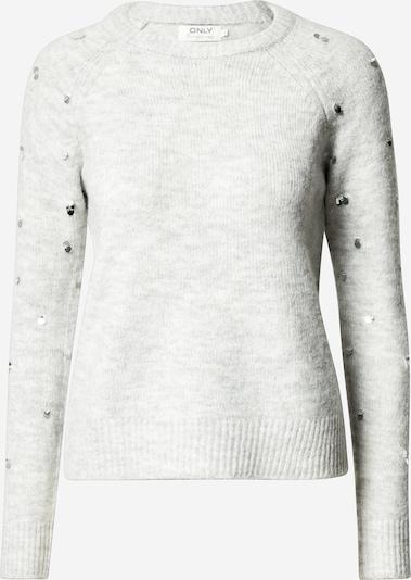 ONLY Pullover 'Luna' in graumeliert, Produktansicht