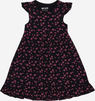 BLUE SEVEN Kleid in nachtblau / pink, Produktansicht