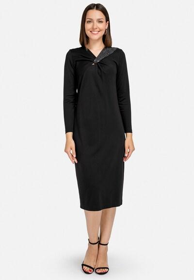 HELMIDGE Abendkleid in schwarz, Modelansicht