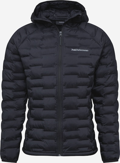 fekete / fehér PEAK PERFORMANCE Kültéri kabátok 'Argon', Termék nézet