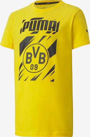 PUMA Functioneel shirt in de kleur Geel / Zwart, Productweergave