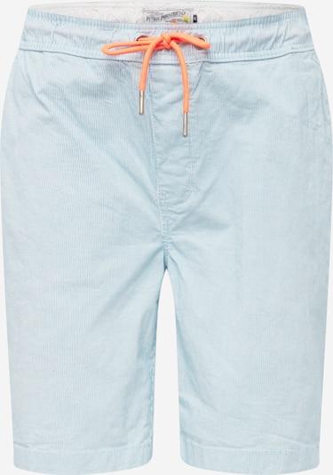 Petrol Industries Pantalon chino en bleu clair / blanc, Vue avec produit