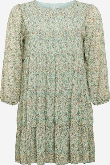 Z-One Kleid 'Agneta' in grün / mischfarben, Produktansicht