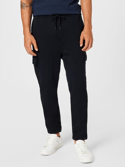 JOOP! Jeans Карго панталон 'Saint' в черно, Преглед на модела