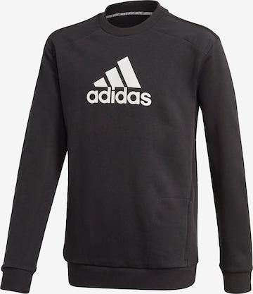 ADIDAS PERFORMANCE Sportsweatshirt in Schwarz