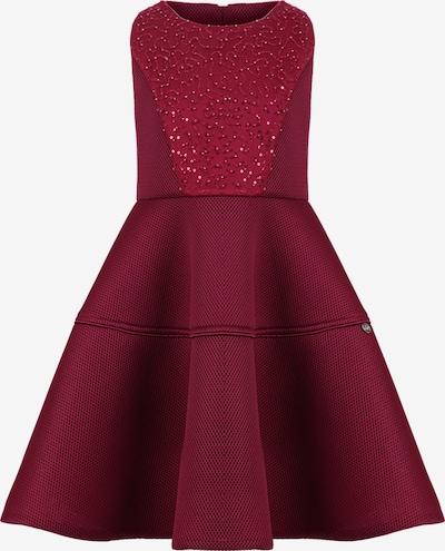 Gebriel Juno Kleid mit Pailettenfront in rot, Produktansicht