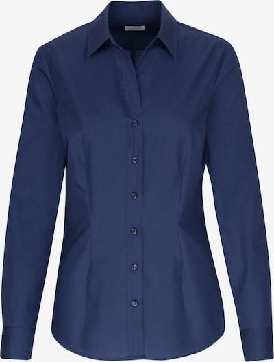 SEIDENSTICKER Hemdbluse ' Schwarze Rose ' in blau, Produktansicht